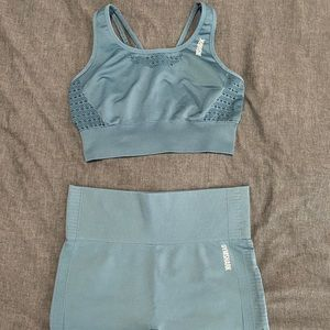 Two piece Gymshark workout set
